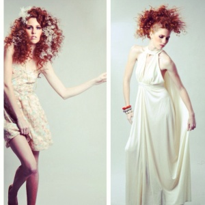 Editorial style shoot at The Lab a Salon