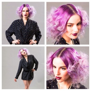 Hair styled by Andie Jones for an Editorial photo shoot at The Lab a Salon